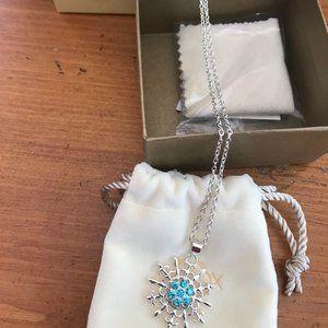 Lenox Sparkling Snowflake Necklace